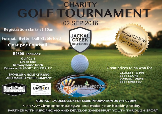 Great prizes for golf tournaments